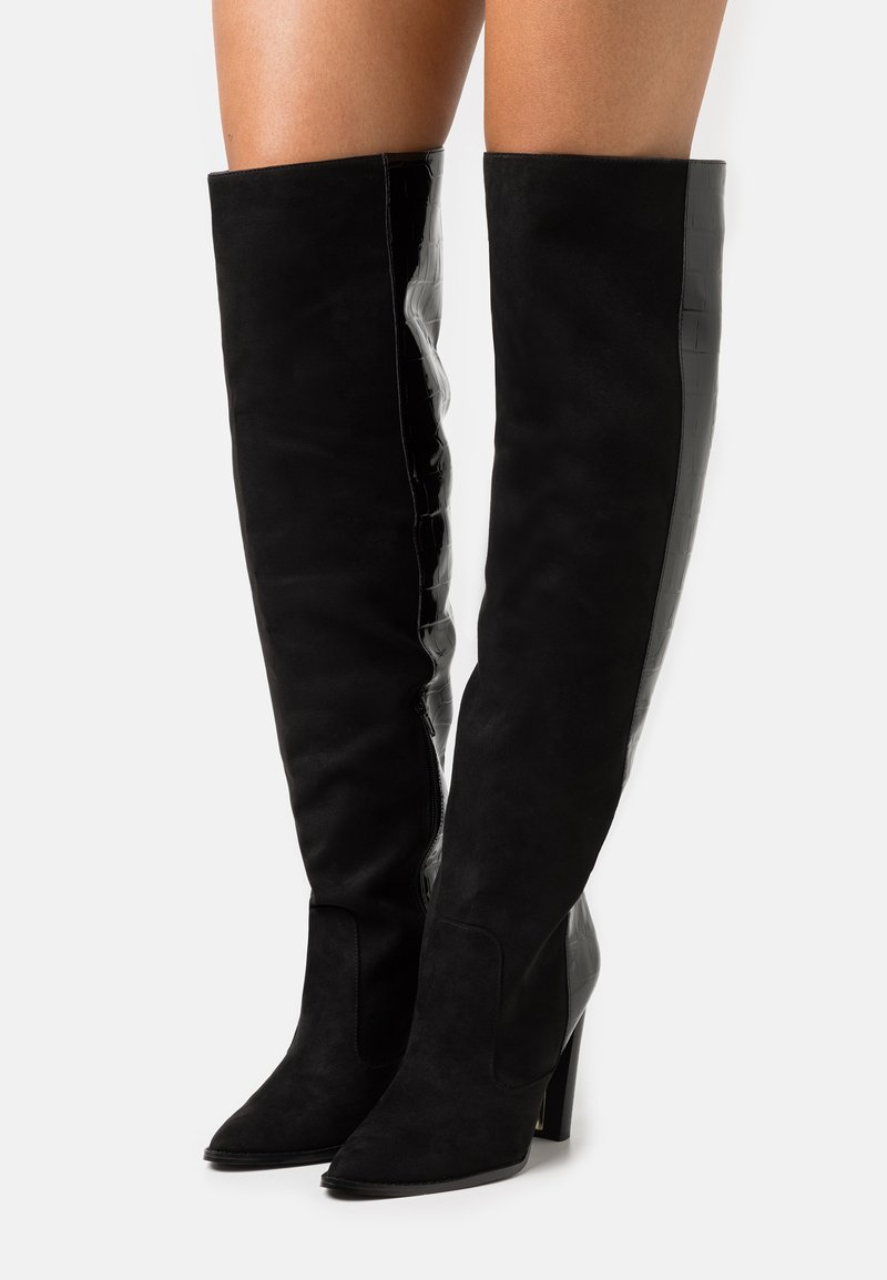 River Island Wide Fit - Boots - black