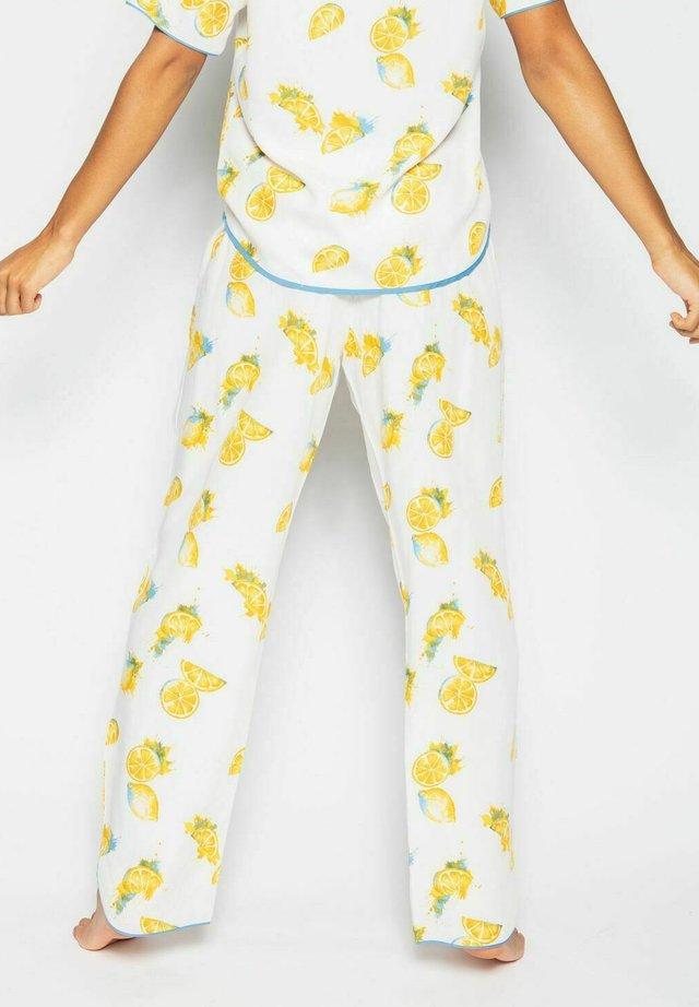 Pyjamahousut/-shortsit - lemon fruit
