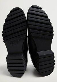 Mango - BLUELIGH - Smart lace-ups - schwarz - 4