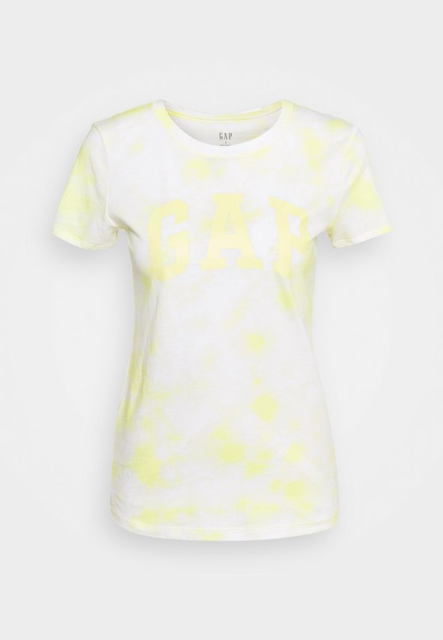 TEE - T-shirt con stampa - yellow