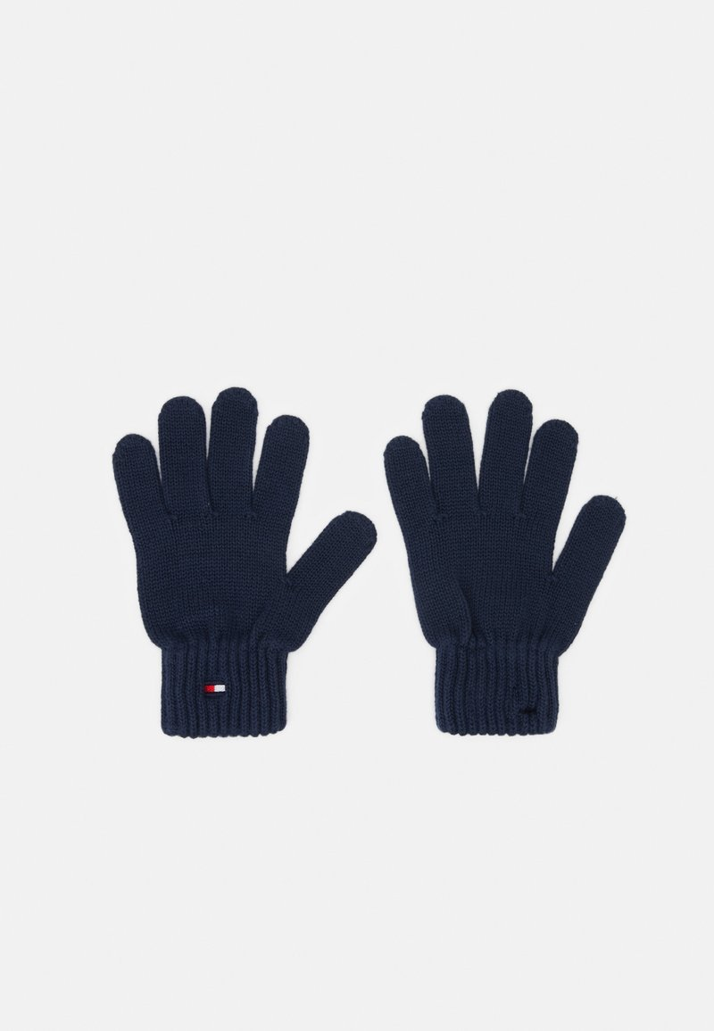Tommy Hilfiger - FLAG GLOVES UNISEX - Fingerhandschuh - blue
