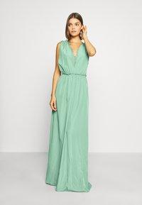 YAS - ELENA BRIDESMAIDS MAXI DRESS - Společenské šaty - oil blue - 0