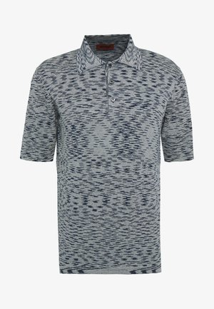 Polo shirt - navy/multi