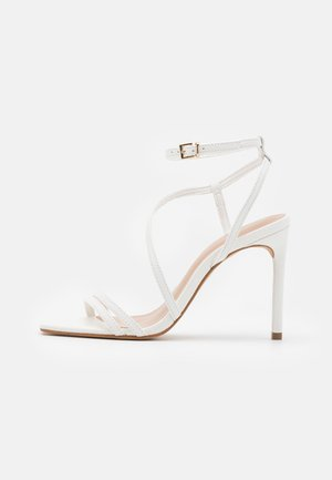 FRELIAN - High heeled sandals - white