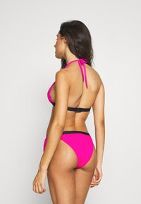 Tommy Hilfiger - CORE SOLID LOGO CHEEKY SIDE TIE - Bikini bottoms - pink glo - 2