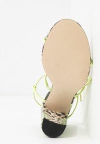 Call it Spring - IMPRESSA - High heeled sandals - light green - 6