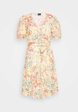 WANJA WRAP DRESS - Jerseykjole - multi coloured