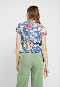 Rolla's - ELLA ROSE GARDEN BLOUSE - Button-down blouse - blue - 2