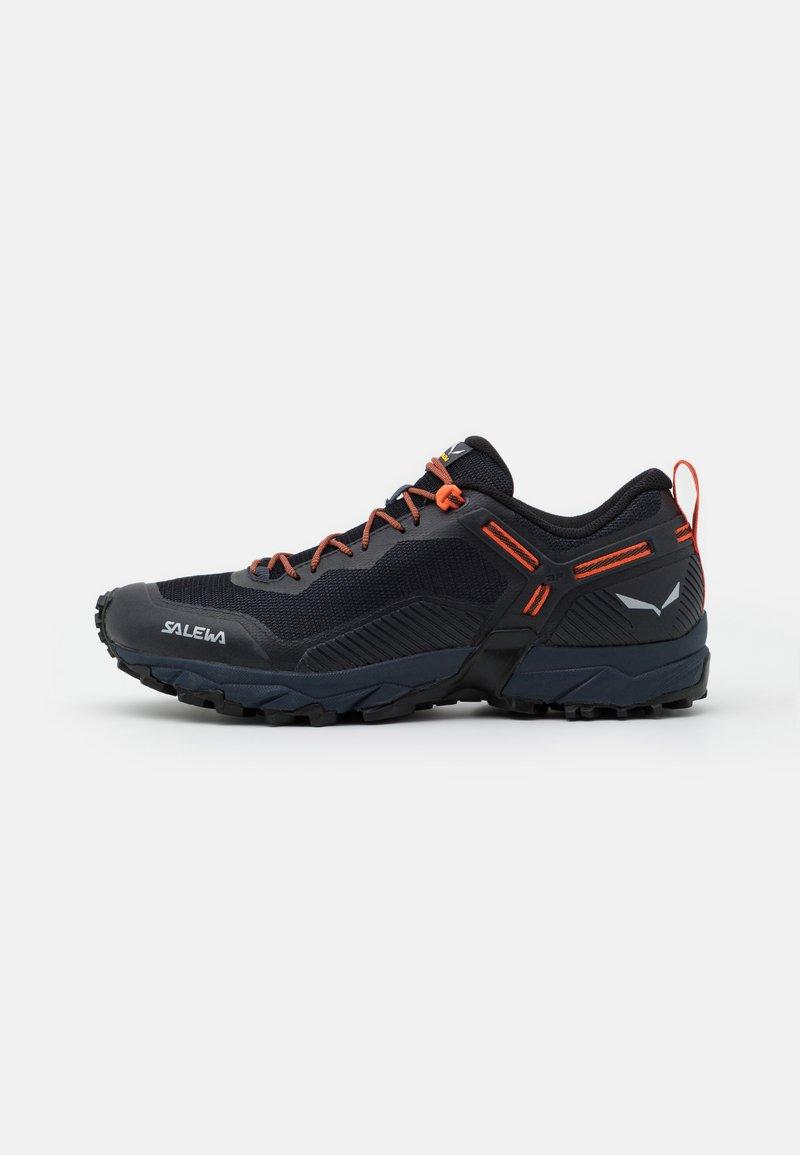 Salewa - MS ULTRA TRAIN 3 - Trail running shoes - ombre blue/red orange
