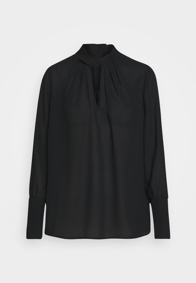 THELMA FANCY BLOUSE - Bluse - black