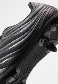 adidas Performance - COPA 20.4 FG - Korki Lanki - core black/solid grey - 2