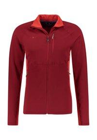 Kaikkialla - Fleece jacket - rot (500) - 2