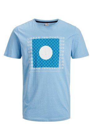 JCOGRID - Print T-shirt - dusk blue