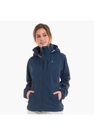 SCHÖFFEL JACKEN JACKET NEUFUNDLAND4 - Waterproof jacket - blue