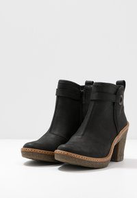 El Naturalista - HAYA - High heeled ankle boots - pleasant black - 4