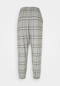 Hunkemöller - PANT CHECK - Pantaloni del pigiama - warm grey melee - 1