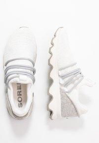 Sorel - KINETIC LACE - Sneakersy niskie - white - 3