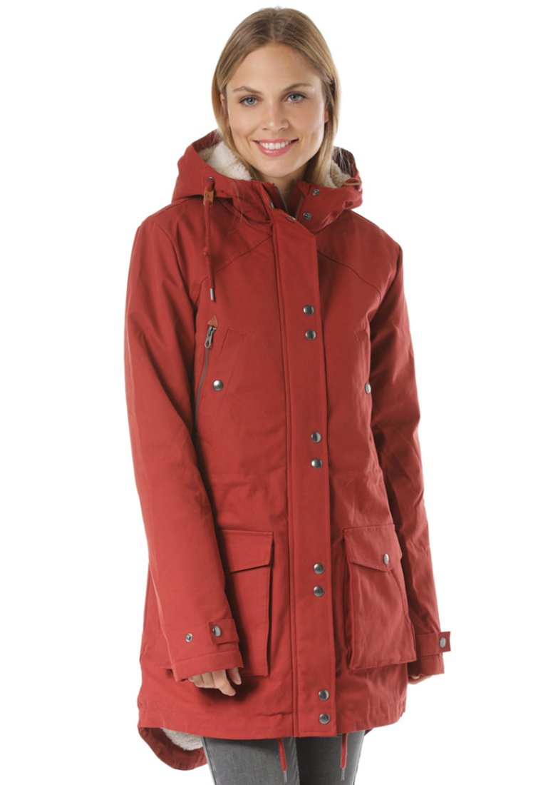 Volcom - WALK ON  - Winter coat - red