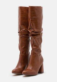 4th & Reckless - HADLEY - Vysoká obuv - tan - 2