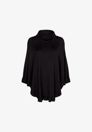 FQCLAUDISSE ROLL - Stickad tröja - black