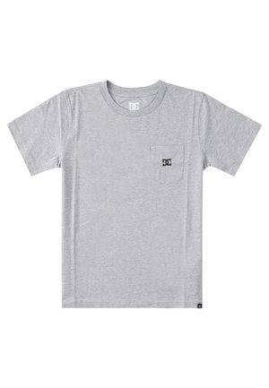 STAR POCKET  - Camiseta básica - heather grey