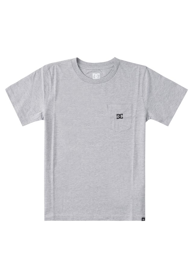 STAR POCKET  - T-shirt basic - heather grey