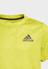adidas Performance - Print T-shirt - yellow - 1