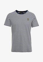 STRIPE - T-shirt con stampa - navy