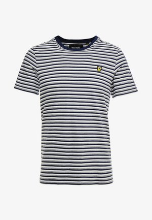 STRIPE - T-shirt con stampa - navy