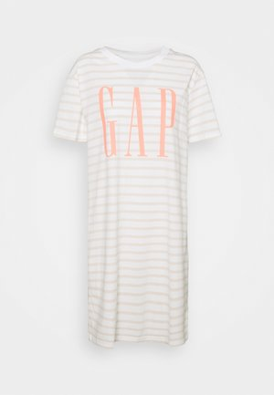 DRESS - Žerzejové šaty - neutral