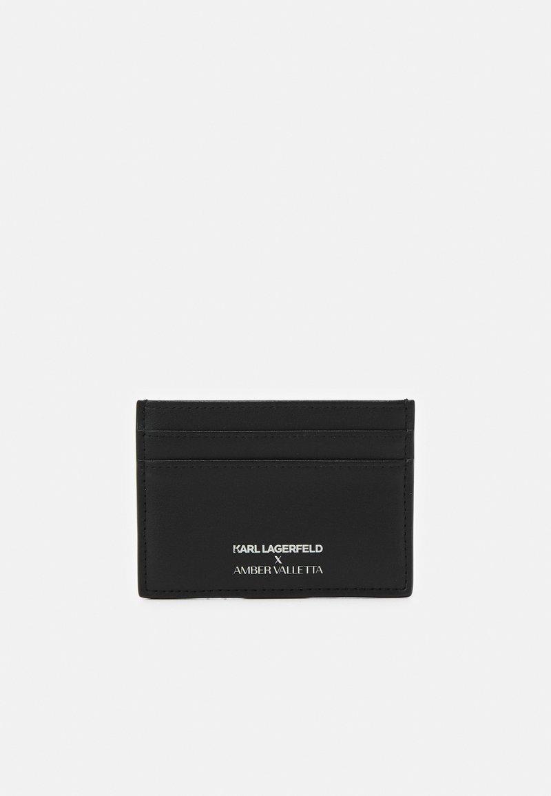 KARL LAGERFELD - AMBER VALLETTA CARD HOLDER - Wallet - black