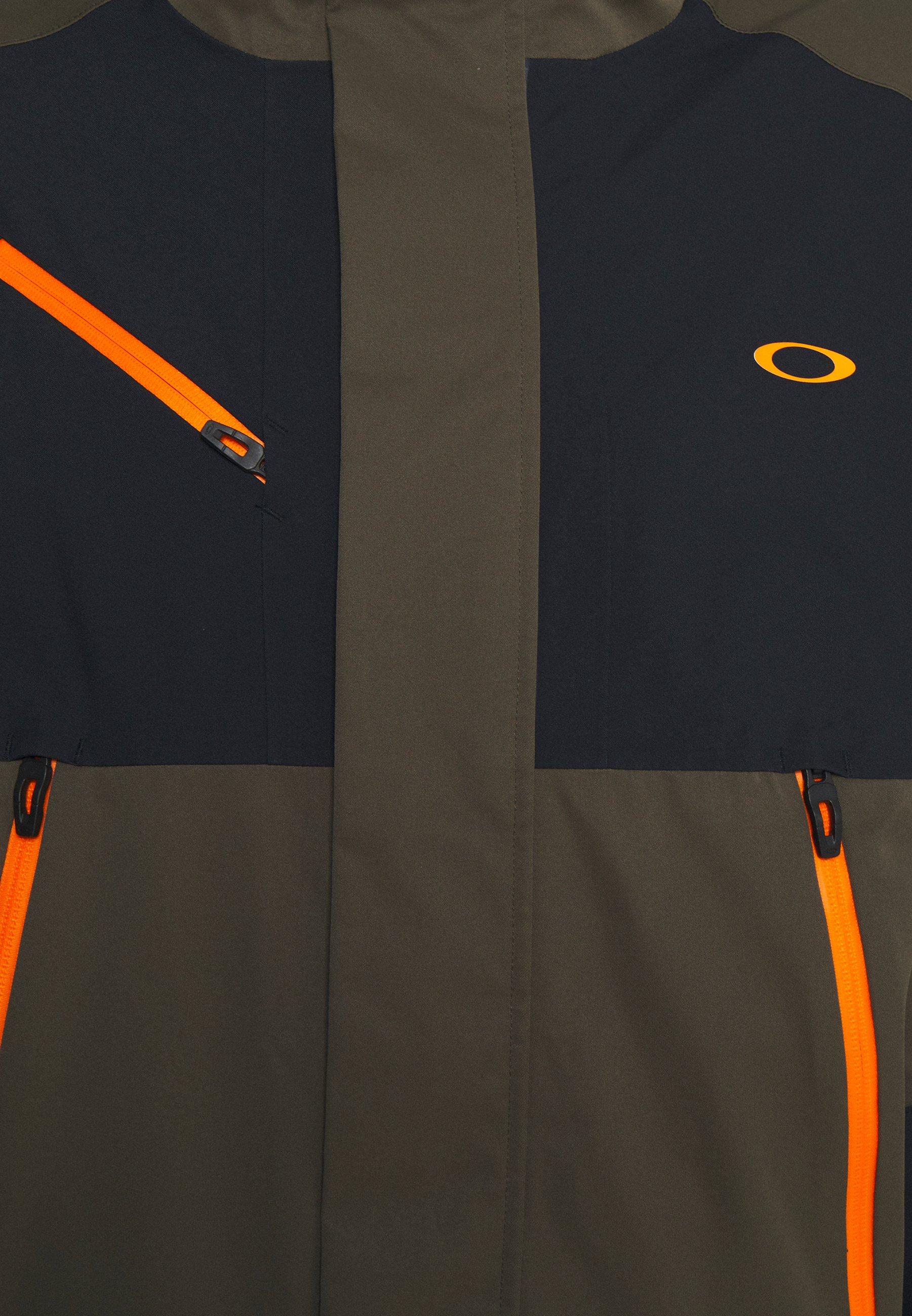 Oakley CRESCENT 3.0 SHELL JACKET Snowboardjas new dark