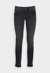 Herrlicher - TOUCH CROPPED BLACK  - Jeans slim fit - inox - 3