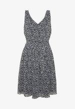 DRESS - Day dress - navy/blue