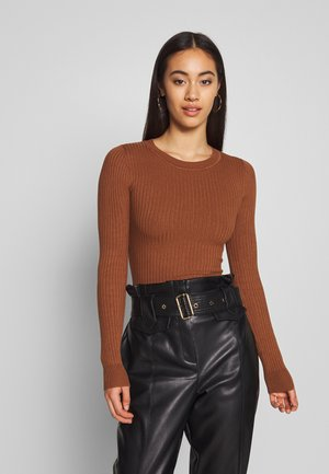 Sweter - light brown