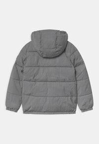 Calvin Klein Jeans - REFLECTIVE LOGO TAPE - Zimní bunda - black/silver - 1