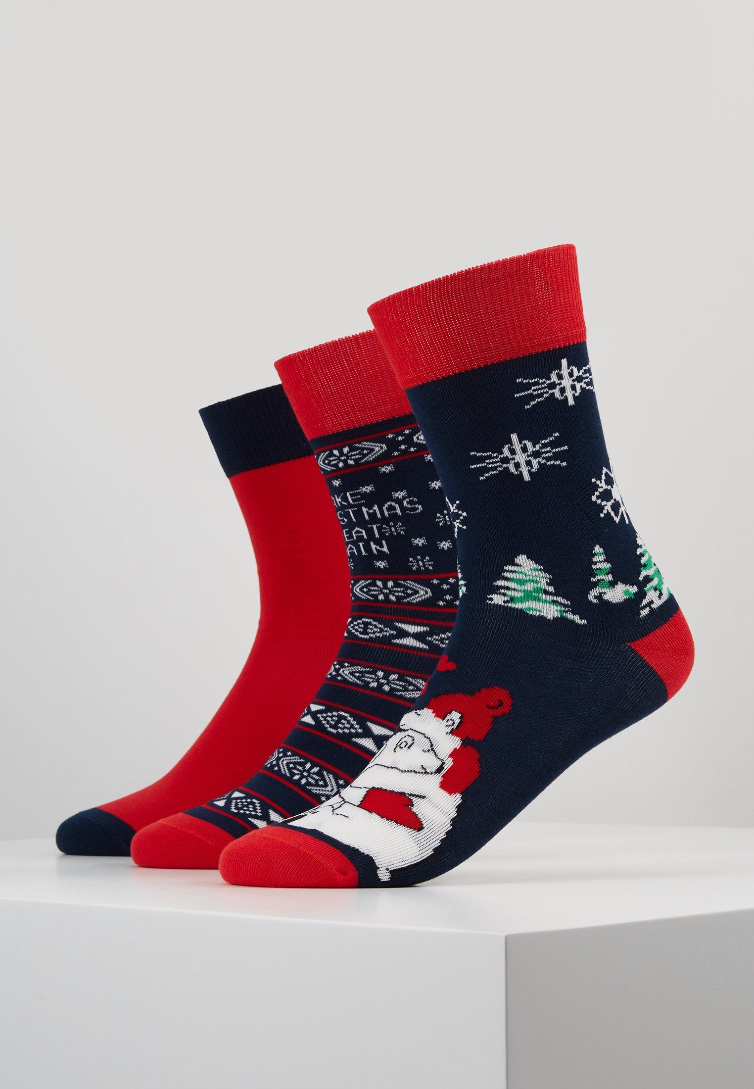 Homme CHRISTMAS SOCKS SET ICEBEAR 3 PACK - Chaussettes