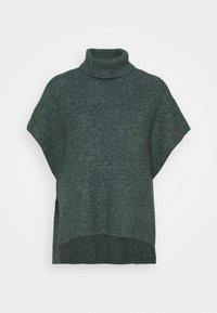 Lindex - PONCHO MIRANDA - Cape - dark dusty green - 0