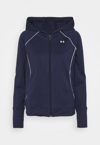 Under Armour - TRICOT JACKET - Sweatjacke - midnight navy - 4