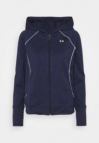TRICOT JACKET - Zip-up hoodie - midnight navy