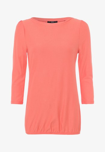 Long sleeved top - apricot shine