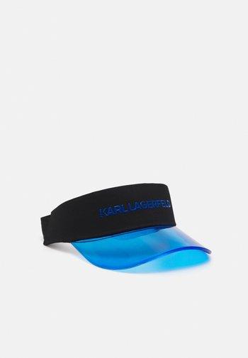 BOX LOGO VISOR - Cap - blue