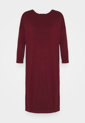 VMGLORY VIPE AURA DRESS - Abito in maglia - cabernet