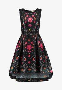 Derhy - BEAUBOURG - Koktejlové šaty/ šaty na párty - black - 5