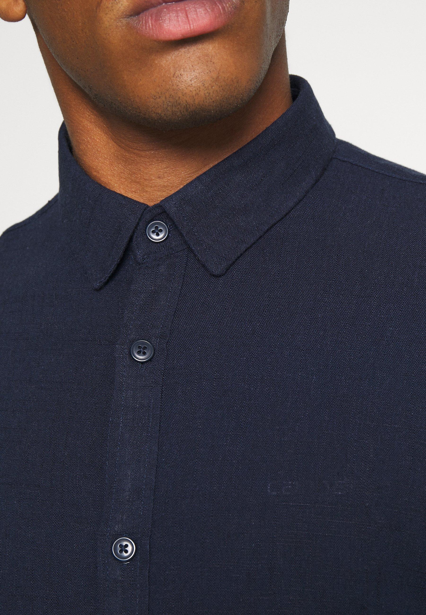 Brave Soul Dumfries - Skjorte Rich Navy/mørkeblå
