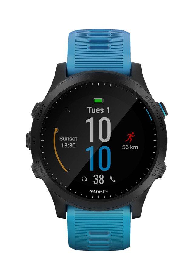"""GARMIN GPS-LAUFUHR SET """"FORERUNNER 945 TRI BUNDLE"""" - Smartwatch - black"""