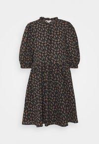 OBJBAREEN DRESS  - Shirt dress - sky captain/shrimp