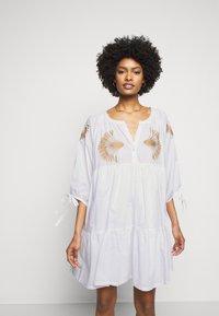 Steffen Schraut - IPANEMA SUMMER TUNIC DRESS - Day dress - white - 0