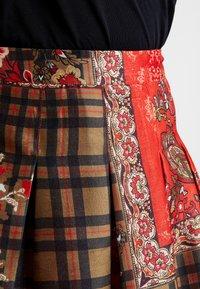 Derhy - OBERO - A-snit nederdel/ A-formede nederdele - red - 4