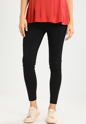 BENGALINE - Trousers - black